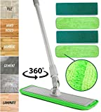 Best Dust Mop For Hardwood Floors - Aluminum Alloy Microfiber Mop | Professional Microfiber Pads Review