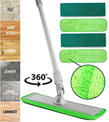 Microfiber Mop Floor Cleaning System - W...