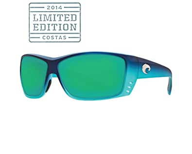 8e4e6437bb0 Image Unavailable. Image not available for. Color  Costa Del Mar Cat Cay  Limited Edition Sunglasses - Matte Caribbean Fade Frame - Green Mirror