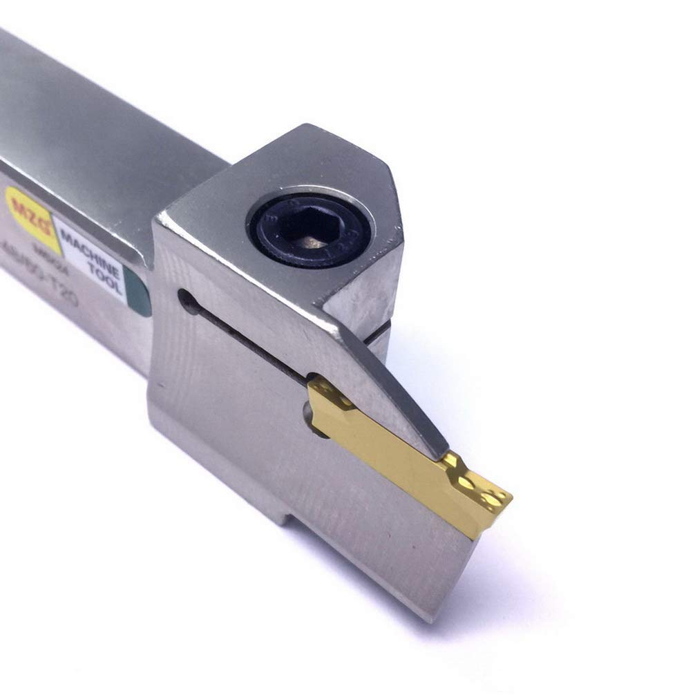 Maifix MGHH420R-98//160 20mm Alloy Steel Shank 4mm Width Groove Cutting CNC Lathe Grooving Tool