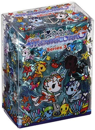 (Tokidoki Mermicorno Series 3 Blind Box Collectible - One Random Blind Box)