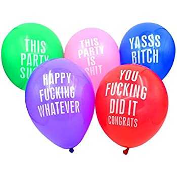 Amazon.com: Dear Deer--Abusive Balloons for Birthday Party