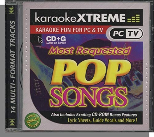 Most Requested Pop Songs [Karaoke CD Rom]