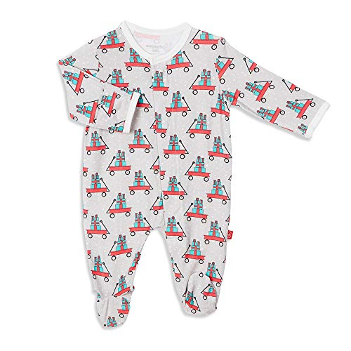 Magnetic Me by Magnificent Baby Modal Magnetic Fastener Footie