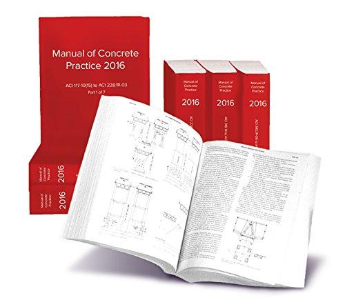 aci manual of concrete practice 2017