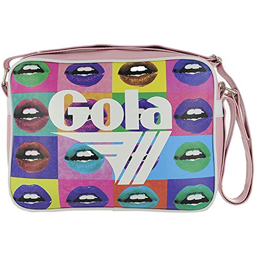 BORSA GOLA MIDI REDFORD POP LIPS LIGHT PINK/WHITE/MULTI