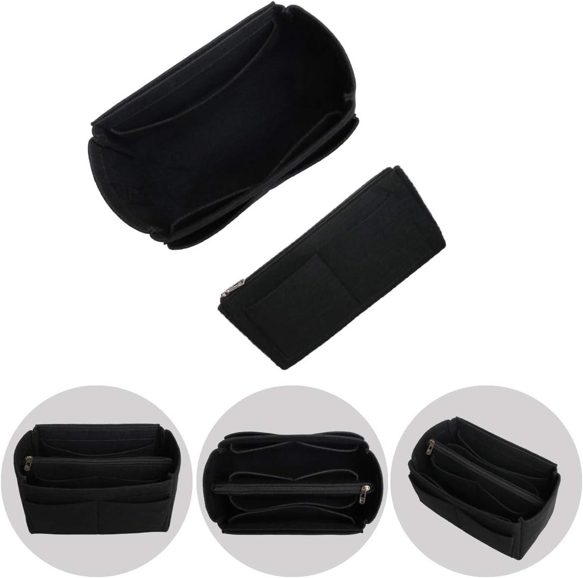 Noir organiseur de salle de bain avec poche int/érieure zipp/ée Noir - chil-mothbag//black11-M-1 fermeture /éclair Shingone Sac de rangement pour sac /à main et sac /à main /étanche