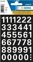 Herma 15558 - Números (15 mm, 0-9, impermeable), color blanco