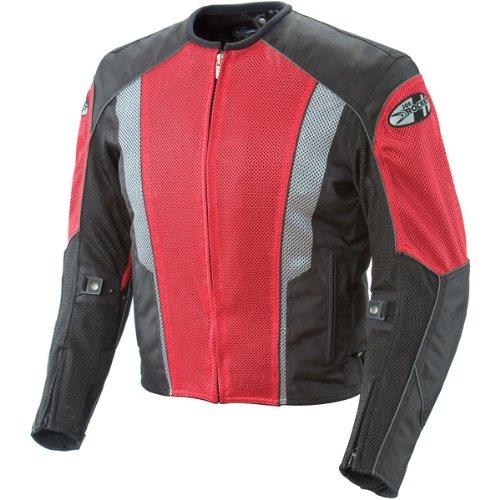 Joe Rocket Phoenix 5.0 Mens Red Mesh Motorcycle Jacket - X-Large (Joe Rocket Motorcycle Jacket Red)