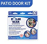 Polar Bear Weatherproofing Standard Patio Door Insulation Film Kit - 84 Inch x 86 Inch - Crystal Clear Film