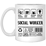Social Worker Coffee Mug - Features and Benefits of Social Worker - Social