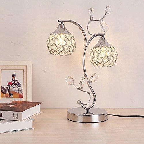 MOMO Led Kreative Kristall Tischlampe Dekoration Schlafzimmer Nachttischlampe Schreibtischlampe Luxus Kristall Licht by MOMO (Image #1)
