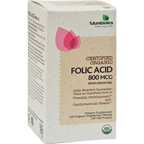 FUTUREBIOTICS FOLIC ACID,OG2, 120 VTAB