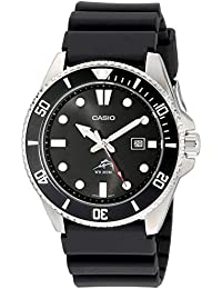 Mens MDV106-1AV 200M Duro Analog Watch, Black