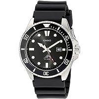 Men's MDV106-1AV 200M Duro Analog Watch, Black