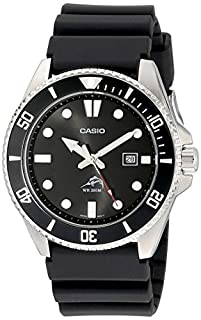Casio Men's MDV106-1A Black Analog Anti Reverse Bezel Watch (B009KYJAJY) | Amazon Products