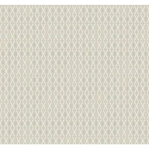 York Wallcoverings DI4755 Dimensional Artistry 60-3/4 Square Foot - Smoke & Mirrors - Pre-Pasted Paper Wallpaper
