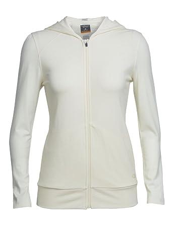 Icebreaker Women S Nomi Long Sleeve Mid Layers Hood Amazon Co Uk
