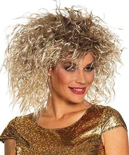 Boland 86374 Tina Turner Style Rock Queen Wig (Tina Turner Simply The Best Ringtone)
