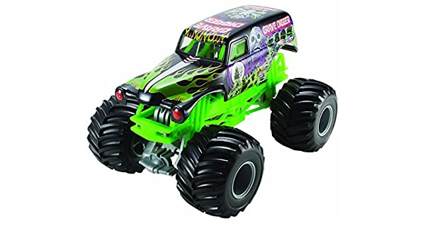 Hot Wheels BHP370 - Monster Jam 1:64, Grave Digger: Amazon.es: Juguetes y juegos