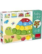 Goula 53140 Baby Color Houten Puzzel Peuter Speelgoed Kinderen vanaf 2 jaar Nederlands Educatief Speelgoed