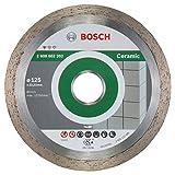 Bosch Pro Diamanttrennscheibe Standard for Ceramic Keramikfliesen für Winkelschleifer (Ø 125 mm)