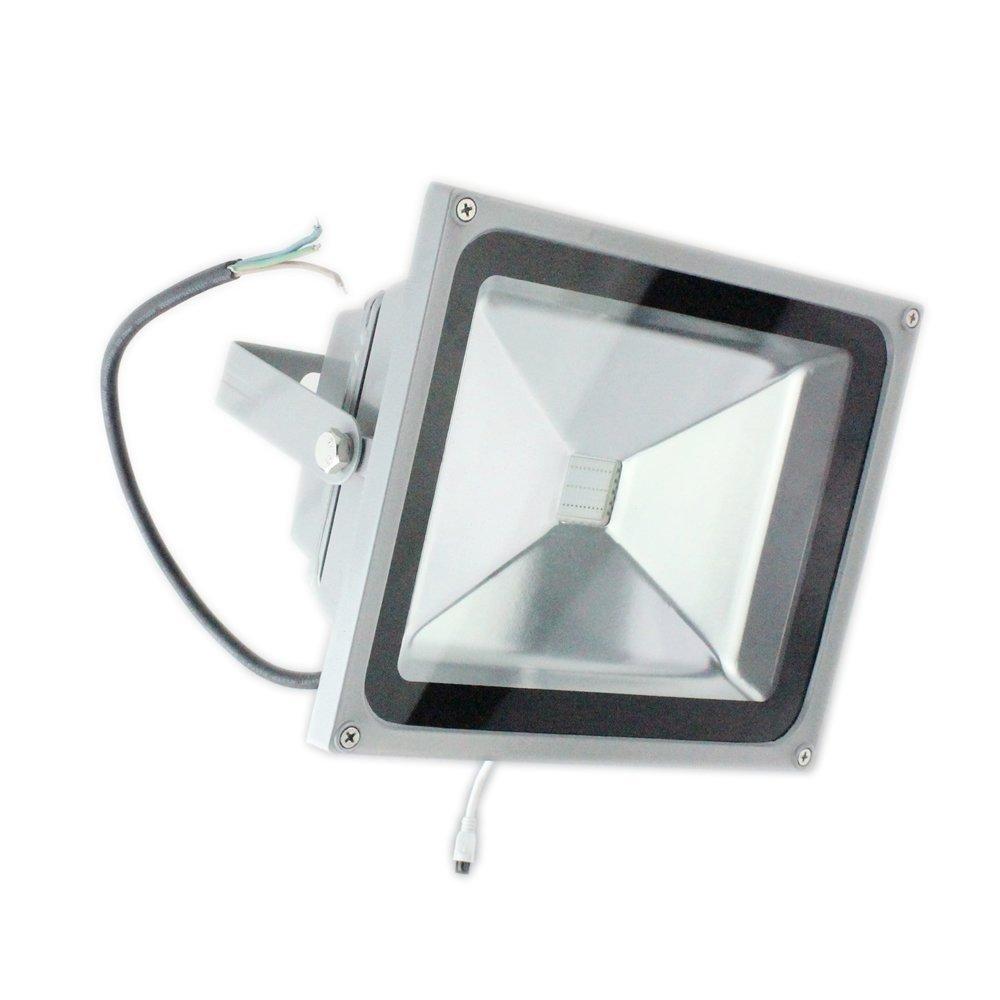 PMS 10W/20W/30W/50W RGB LED Foco Proyector Luz, 16 Colores con ...