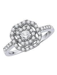 KATARINA Diamond Engagement Ring in 14K Gold (1/2 cttw, I-J, I1-I2)