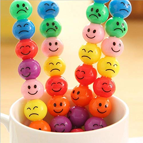 Toys Toys - 3pcs Plastic Diy Cartoon Crayons Creative Sugar Coated Haws Smiley Graffiti Pen Stationery Kid 39 S - Tory Girl Toy Tory Boys 10-year-olds Olds Kids Story Year