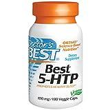 Doctor's Best, Best 5-HTP, 100 mg, 180 Veggie Caps - 2pc