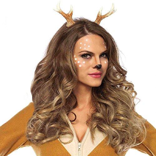 Fawn Costume Headband (Fawn Horn Headband Costume Accessory Adult Christmas)