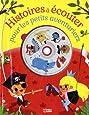 Histoires à écouter pour les petits aventuriers avec un CD - Dès 4 ans
