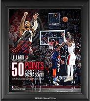 "Damian Lillard Portland Trail Blazers Framed 15"" x 17"" 50-Point Game 5 Series Winning Buzzer Beater"