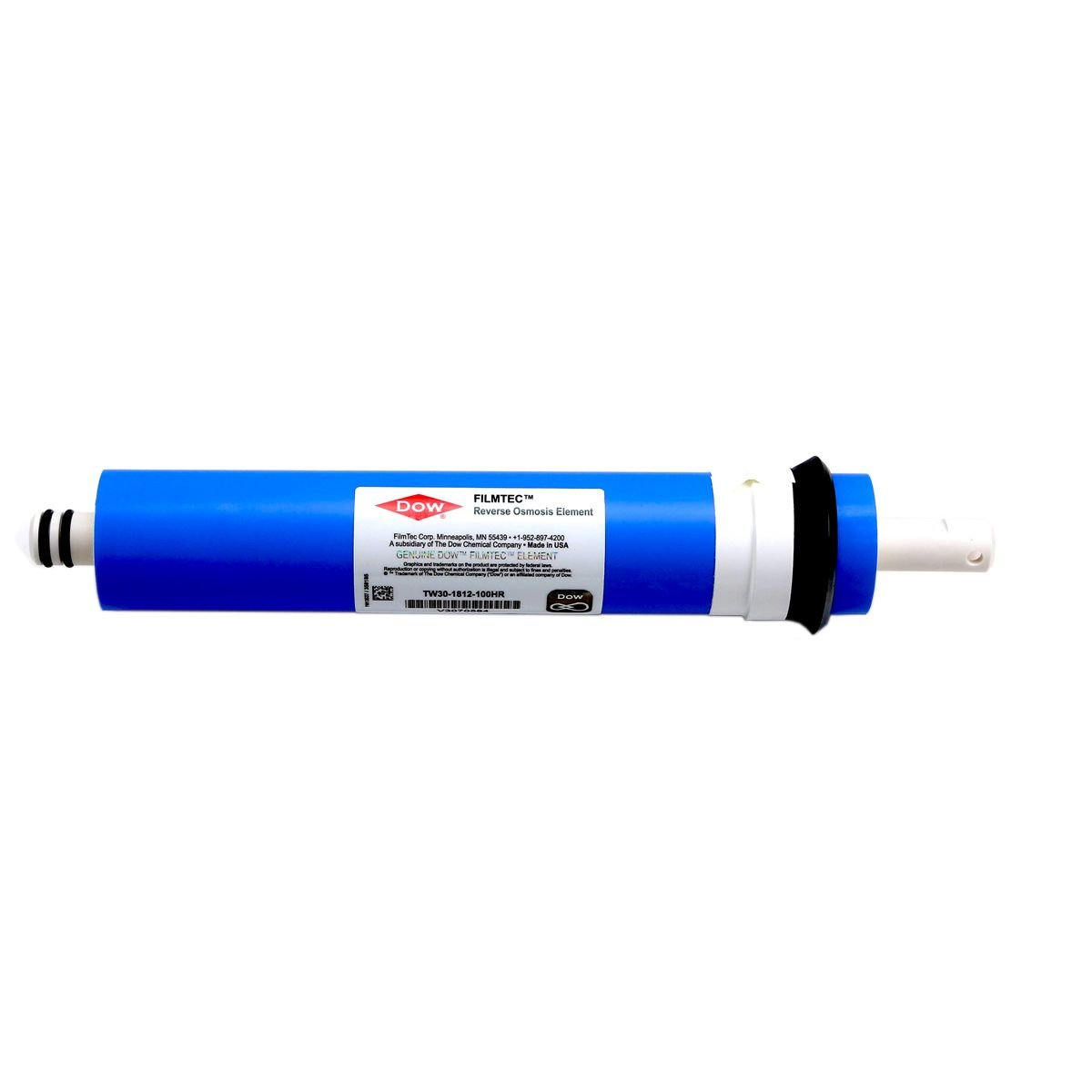 TW30-1812-100HR Dow Filmtec 100 gpd High Rejection TFC Replacement Membrane for Undersink Reverse Osmosis (RO) System (New Model Replaces TW30-1812-100)