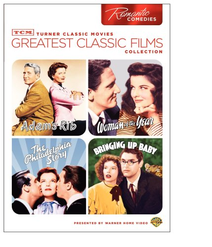 TCM Greatest Classic Films Collection: Romantic Comedies (Adam's Rib / Woman of the Year / The Philadelphia Story / Bringing Up Baby) by NEW Line Home Video