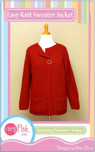 Easy-Knit Sweater Jacket (Easy Fancy Dress Costumes)