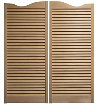 Cafe Doors Premade for any 36  Finished Opening (42  Tall Doors) *Quick Shipping* Solid ... & Doors Premade for any 36