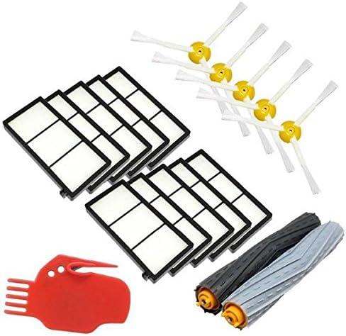 kaiwoo® Kit de reposición para iRobot Roomba serie 800 900 866 870 871 876 880 886 980 accesorios aspirador Kits: Amazon.es: Hogar