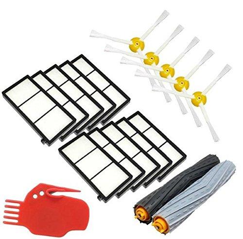 kaiwoo® Kit de reposición para iRobot Roomba serie 800 900 866 870 ...