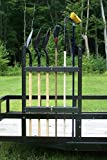 Open Trailer Shovel & Long Handled Tool Rack (PK-23/BM) by Pack'em Racks