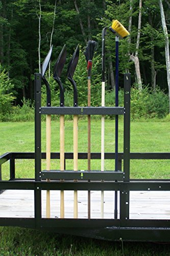 Open Trailer Shovel & Long Handled Tool Rack (PK-23/BM) by Pack'em Racks by Pack'em
