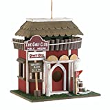 Golf Course Clubhouse Birdhouse For Sale