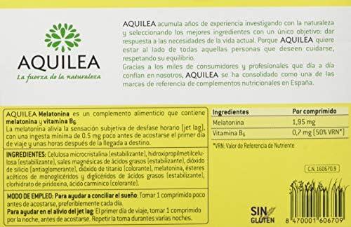 Aquilea Melatonina Complemento Alimenticio - 30 Comprimidos ...