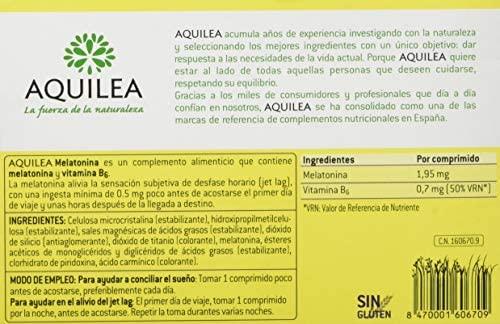 Aquilea Melatonina Complemento Alimenticio - 30 Comprimidos