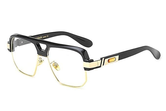 3b8c810e648 Allt Square Aviator Retro Optical Eyewear Non-prescription Eyeglasses Clear  Lens Frame For Men Women