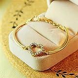 ULAKY Love Heart Women Bangle Bracelet