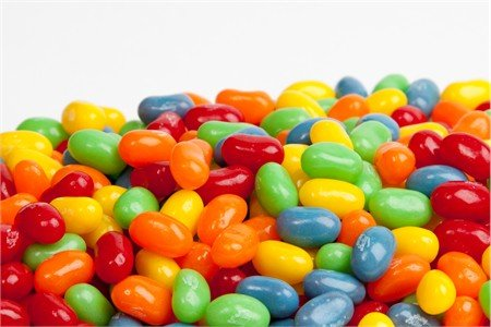 Assorted Sour Mix Jelly Belly Jelly Beans, 2LBS