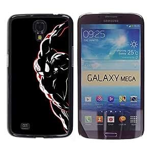 Stuss Case / Funda Carcasa protectora - Araña Superhéroe - Samsung Galaxy Mega 6.3