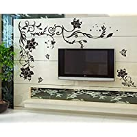 Wall Stickers Flower Vine Decoration