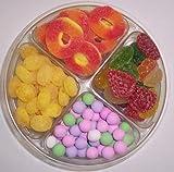 Scott's Cakes 4-Pack Chocolate Dutch Mints, Peach Rings, Lemons Drops, & Pectin Fruit Gels